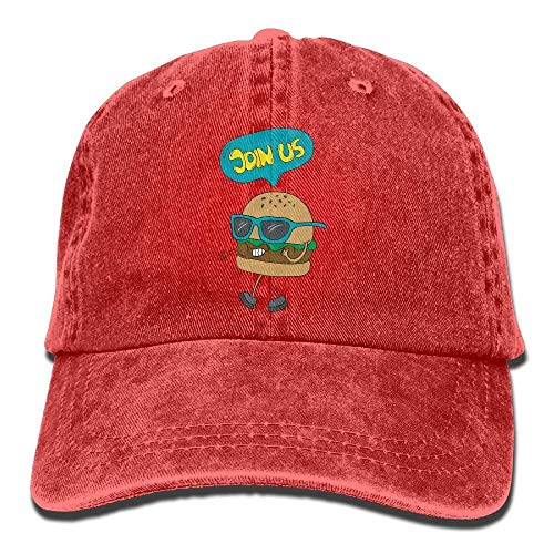 Hats Sport Women Hat Hamburger for Cap Men Denim DEFFWB Cowboy Us Skull Join Cowgirl vfUwwqz