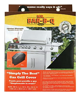 Mr Bar B Q 07008XEF Platinum Prestige Medium Grill Cover
