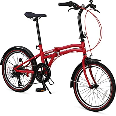 Coghorn Boxer Folding Bike with Compact 7-speed Frame and 20in Wheels