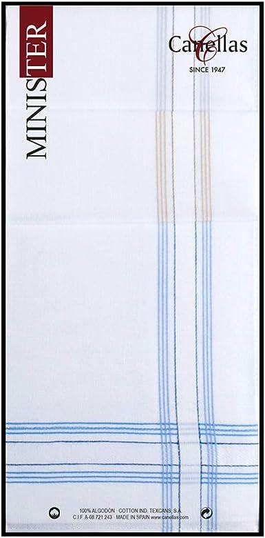 Canellas 70C6 algodón, Blanco con satenes de color, Tamaño del ...