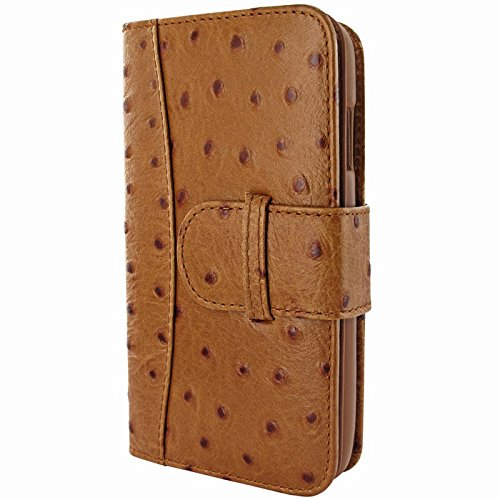 Piel Frama Wallet Case for Apple iPhone 6 Plus - Ostrich Tan by Piel Frama