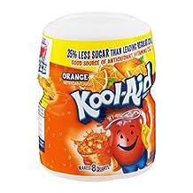 Kool-Aid Drink Mix Orange, 8 QT (Pack of 12)