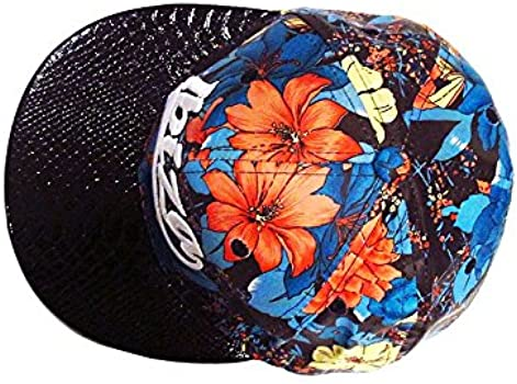 Ibiza Gorra Snapback Flores Rojos - Azul, Talla única: Amazon.es ...