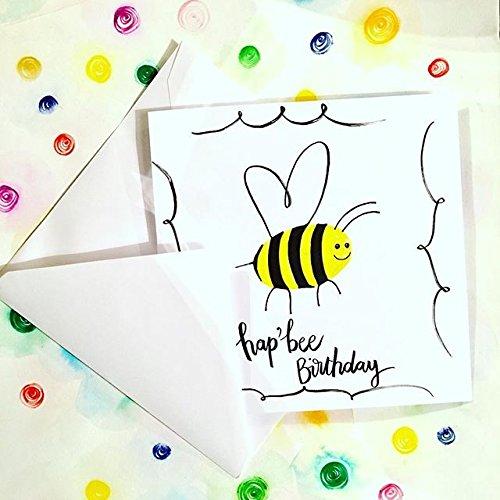Handmade Birthday Cardhapee Birthdayfunny Cardkawaii Cardpun