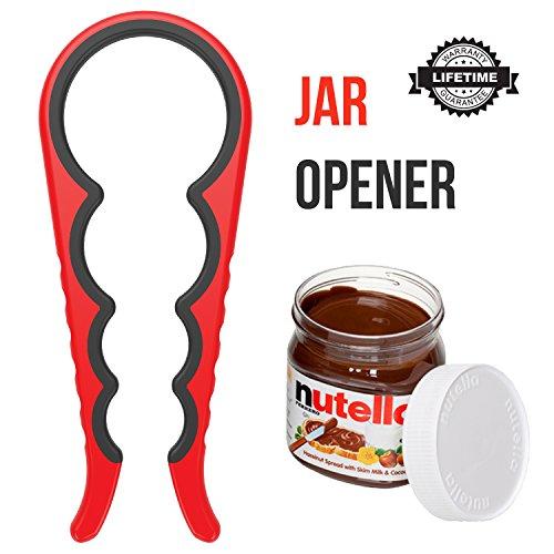 Spark Jar Lid Opener – Silicone Grip Jar Openers for Senio