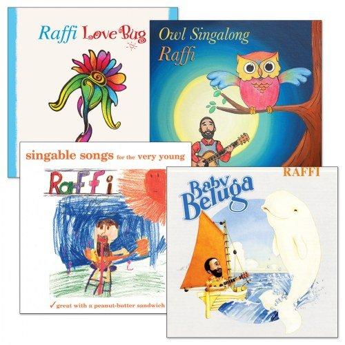 Kaplan Raffi CD Collection (Set of 4)