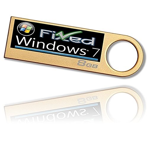 Recovery Disc ON USB Compatible w/ WINDOWS 7 x64 ~All Versions 64 bit -Re-install Windows Factory Fresh! USB Flash...