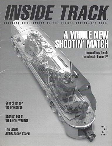 (Lionel Inside Track #75 Railroader Club 1996 Model Train Catalog Magazine Guide)