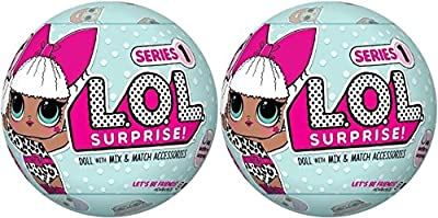 Set of 2 LOL Surprise Dolls Series 1- MGA Entertainment by MGA Entertainment
