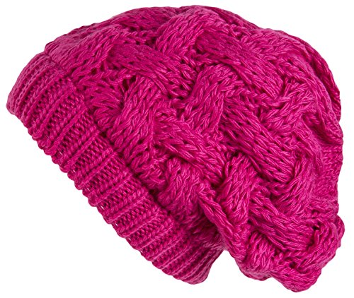Fashionable Pink Womens Hat - 9