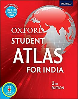 Buy Oxford Student Atlas for India, Competitive Exams 2nd