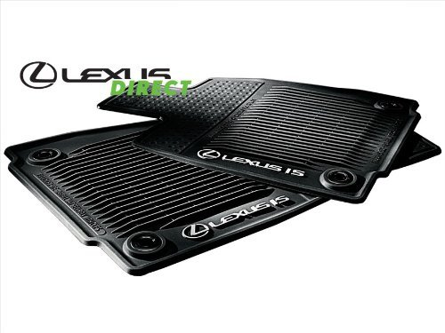 Lexus Rear Wheel Drive (New OEM 2014 Lexus IS250 & IS350 All-Weather Floor Mats (Rear-Wheel Drive) Set of 4)