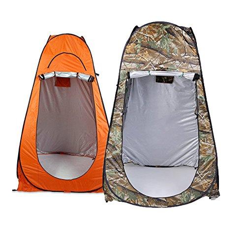 Plat Firm Tragbare Outdoor 1-2 Personen Folding 120 x 120 x 195 cm Dusche Zelt Shelter 2 Fenster + Tasche