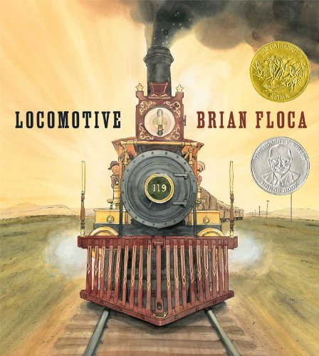 Locomotive (Caldecott Medal Book) - Old Steam Locomotives