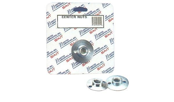 1-Pack United Abrasives-SAIT 95045 14MM by 2.0 Center Nut