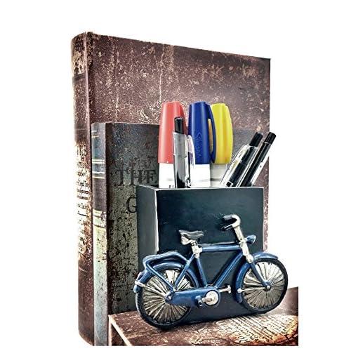 #1 Artistu0027s Pencils Holder Office Desk Organizers Retro Bicycle Pen Pencil  Holder Desk Organizer