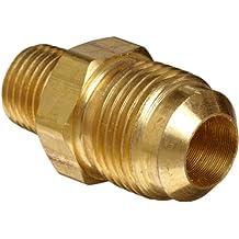 Anderson Metals Brass Compression Tube Fitting, Half-Union, Flare x NPT Male