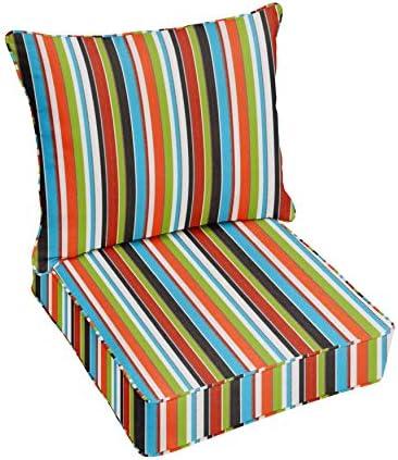 Mozaic AZPC4973 Indoor or Outdoor Sunbrella Deep Seating Cushion Pillow Set