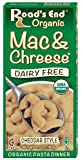 Road's End Organics Mac & Chreese, Organic, 6.5-Ounce Boxes (Pack of 12)