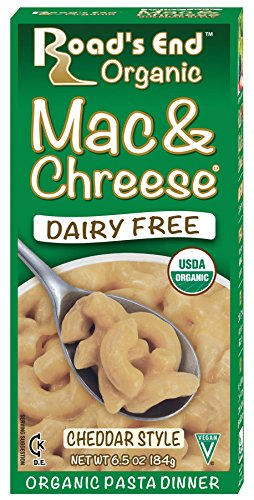Road's End Organic Mac & Chreese, Organic, 6.5 Ounce Boxes (Pack of 12) (Best Vegan Macaroni And Cheese)