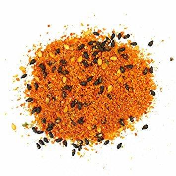 Hohoshi Premium Quality Chili Powder (Nanami) Shichimi Togarashi Seven Flavored Japanese Spice 16 Oz