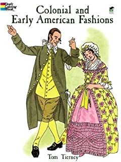 Early American Trades Coloring Book Dover History Coloring Book