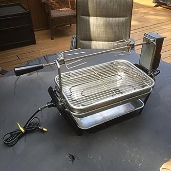 Amazon Com Farberware Open Hearth Broiler Amp Rotisserie