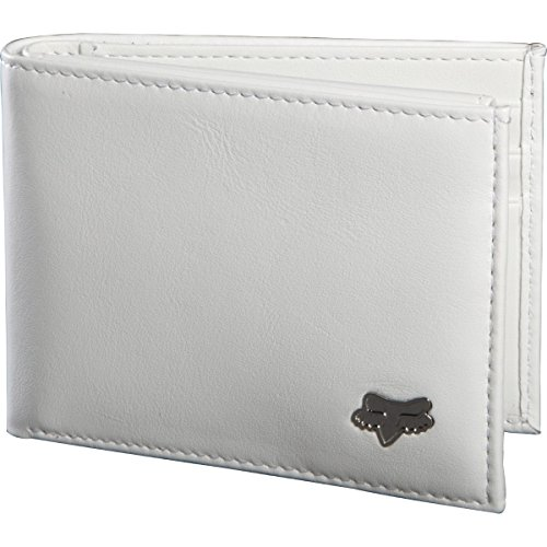 Fox Racing Leather Bifold Wallet Motocross MotoX Offroad MX ATV MTB - White (Fox Racing Leather)