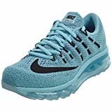 Nike Women's Air Max Running / Training Shoes Sneakers (US 7, Blue/Green/Black)