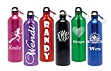 AlphaNumeric Engravers Personalized 25oz Stainless Steel Water Bottle