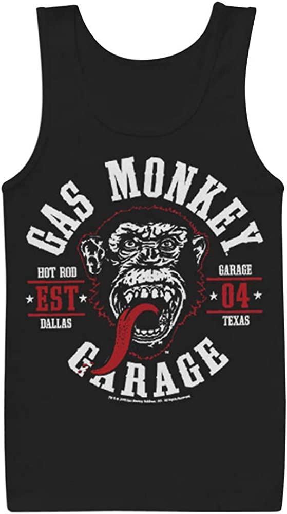 Gas Monkey Garage Officially Licensed Merchandise Flying High Tank Top Vest