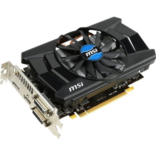 """Msi R7 260X 2Gd5 Oc Radeon R7 260X Graphic Card . 1175 Mhz Core . 2 Gb Gddr5 Sdram . Pci Express 3.0 X16 . 6500 Mhz Memory Clock . 2560 X 1600 . Crossfire . Fan Cooler . Directx 11.2, Opengl 4.3 . Hdmi . Displayport . Dvi """"Product Type: Video Cards/Graphic Cards"""""""