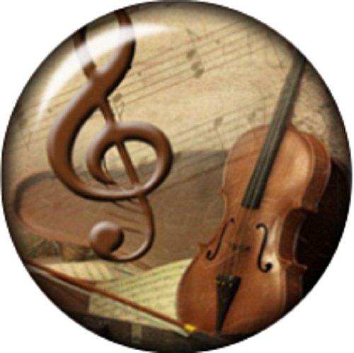 button Music Guitar Violin interchangeable