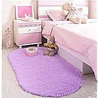 LOCHAS Ultra Soft Children Rugs Room Mat Modern Shaggy...
