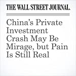 China's Private Investment Crash May Be Mirage, but Pain Is Still Real | Alex Frangos