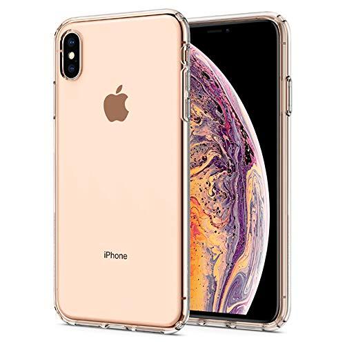 見分ける略す空白【Spigen】 スマホケース iPhone XS Max ケース 6.5インチ 対応 TPU 超薄型 超軽量 クリア リキッド?クリスタル 065CS25122 (クリスタル?クリア)