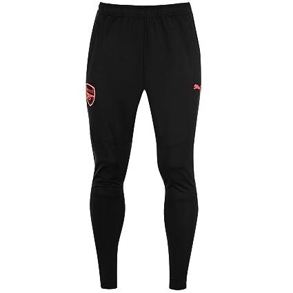 c685be475 Official Puma Arsenal Stadium Pants Mens Black Football Soccer Track Sweat  Bottoms Small