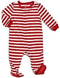 Fleece Baby Boys Girls Footed Pajamas Sleeper Kids &...