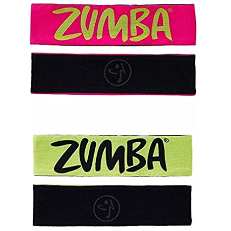Zumba A0A00520 Two-Way to Tame It Headbands