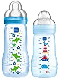 MAM Baby Bottle Set, 270 ml plus 330 ml