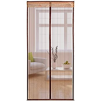 Liveinu Magnetic Screen Door Upgraded Design Reinforced Heavy Duty Mesh Screen  Door Bugs Proof For Windows