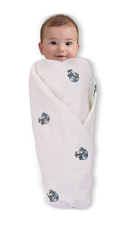 d98dae65a Buy MOM S HOME Organic Cotton Swaddle - 0- 2 Years - Baby Wrap Cum ...