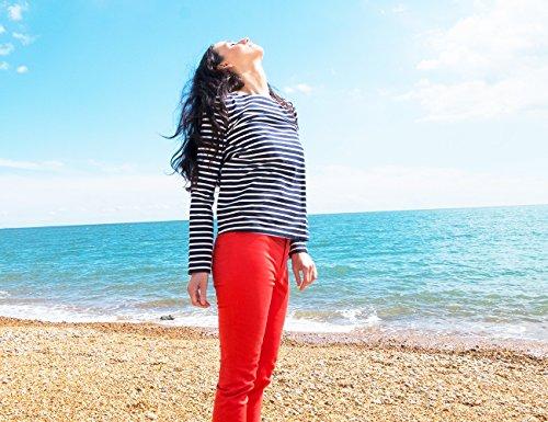 Boch Mujer Rojo Von Brigitte Pantalón Banier T5EAFq