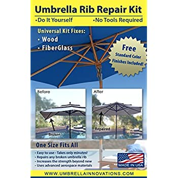 Amazon Com Patio Umbrella Rib Repair Kit For Wood
