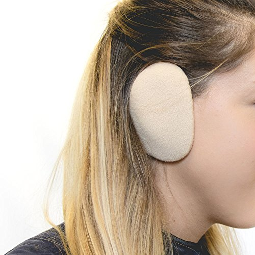 Sprigs Earbags Bandless Ear Warmers/Fleece Earmuffs with Thinsulate - Camel, Small