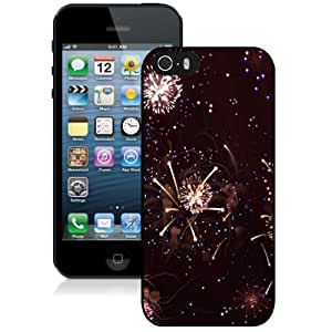 Beautiful Custom Designed Cover Case For iPhone 5s With Fireworks Phone Case