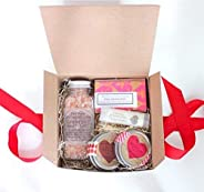 Valentines Day Relaxing Spa Gift Set for Her