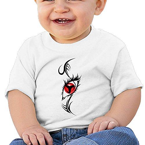 Price comparison product image Boss-Seller SASUKE Short Sleeve T-srhits For 6-24 Months Infant Size 18 Months White