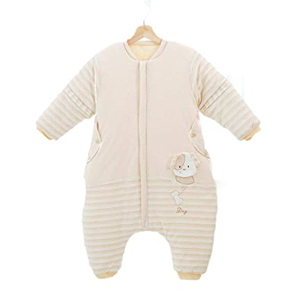CWLLWC Saco de Dormir para bebé,Dibujos Animados de algodón Pluma Fractura Pierna Saco bebé