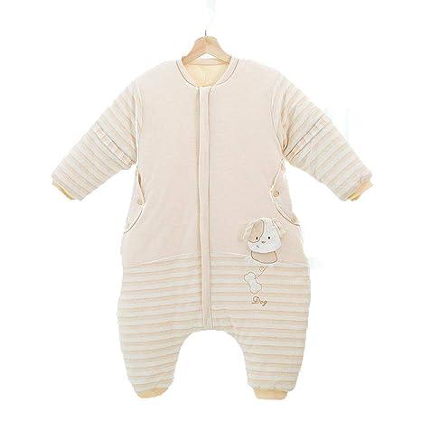Gleecare Saco de Dormir para bebé,Dibujos Animados de algodón Pluma Fractura Pierna Saco bebé
